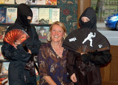 Jane Prowse and ninjas