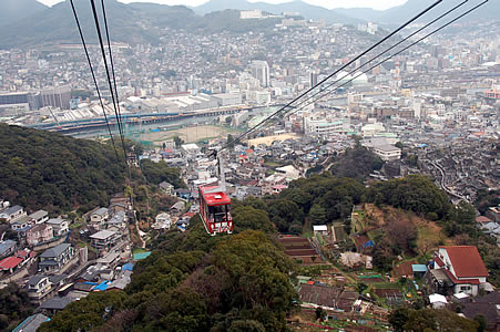 Nagasaki cable car